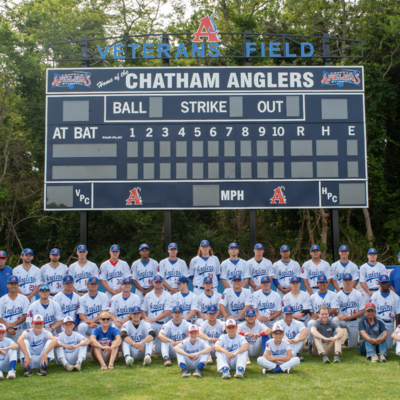 Chatham Anglers Cape Cod Baseball League Formerly The Chatham