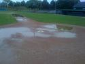 Sunday's Game Rained Out