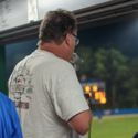 Behind the voice: Public address announcer Peter Burns and the jokes that fill Veterans Field